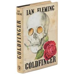 Goldfinger Book by Ian Fleming, First Edition of James Bond Classic, circa 1959