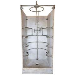 Rib Cage Shower Unit by Wolfe, circa 1900