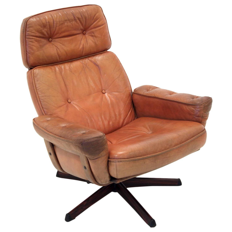 Swedish Chairs Swedish Mid Century Lounge Chair At 1stdibs