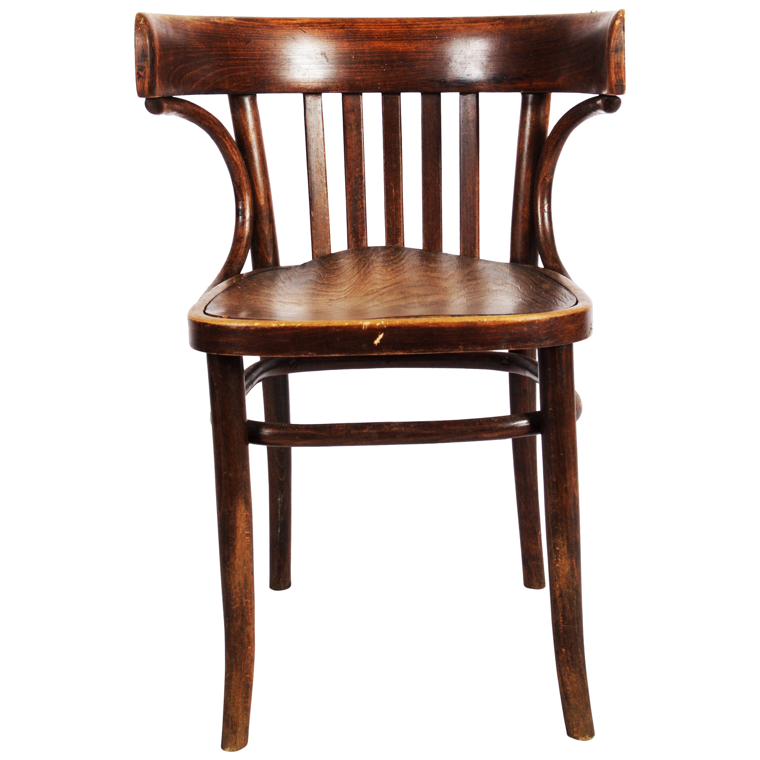 Classical Thonet Bistro Or Cafe Armchair, 1920s For Sale At 1stdibs