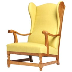 1960s Unattributed Danish Wingback Chair