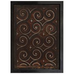 Andrianna Shamaris Framed Toraja Panel