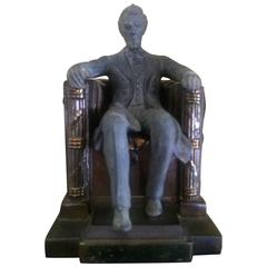 Lincoln Monument Bookend