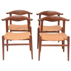 Hans Wegner Cow Horn Chairs