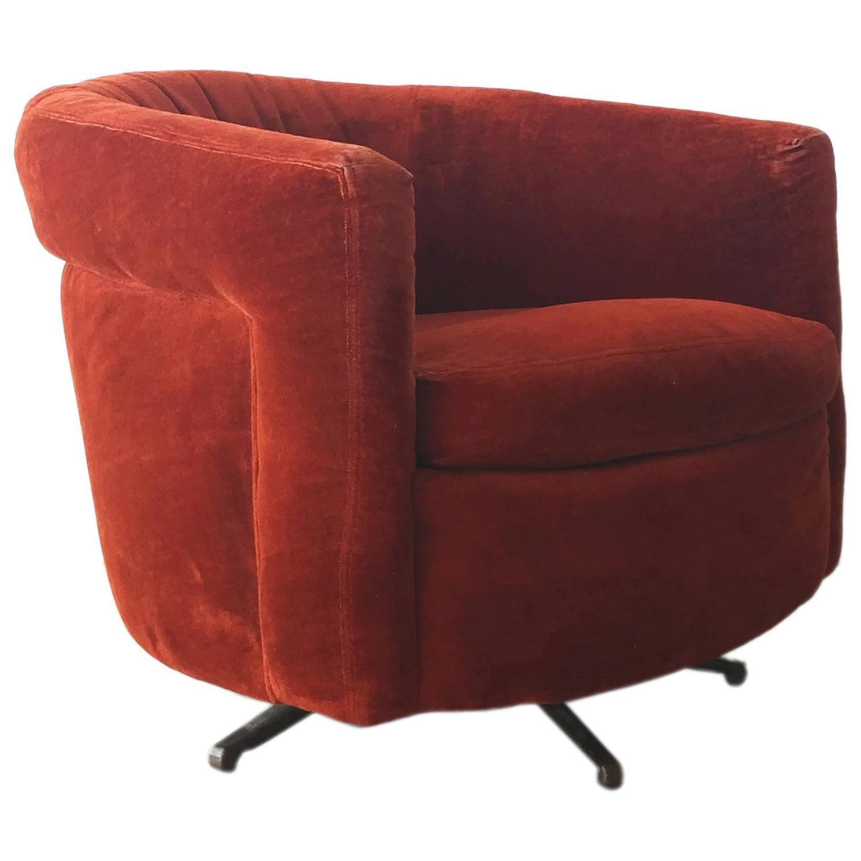 Chairs Swivel Barrel Darby Swivel Glider Barrel Chair By Best Home