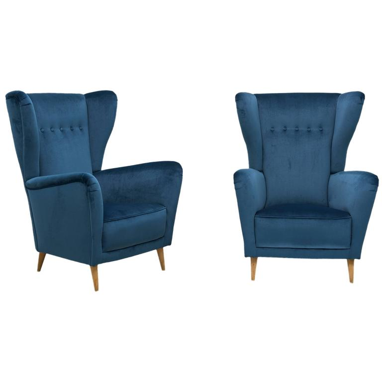 Armchairs attributed to Ico and Luisa Parisi, ca.1955