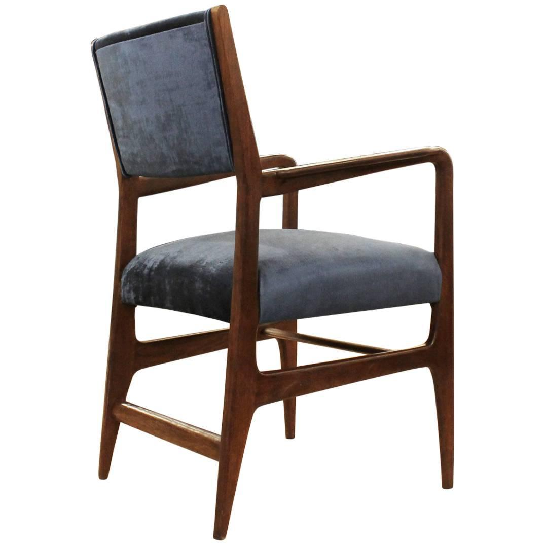 Gio ponti armchair for cassina italy 1950s at 1stdibs for Cassina italy