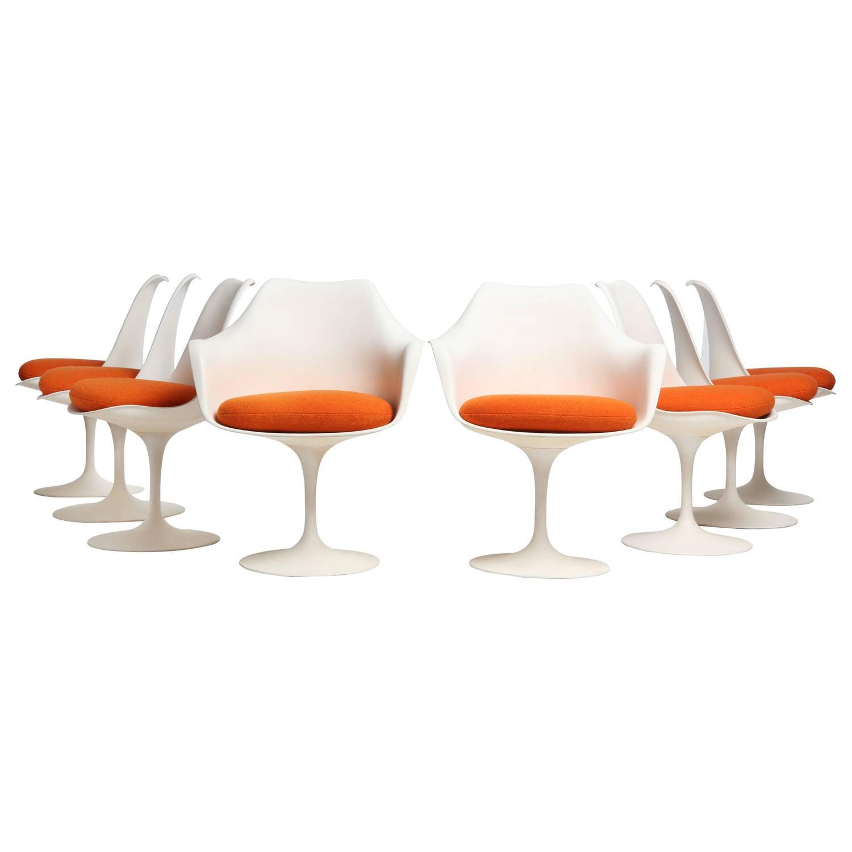 Tulip Chairs by Eero Saarinen For Sale at 1stdibs