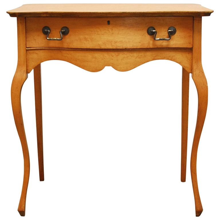 French Provincial Louis Xv Style Ladies Writing Table At