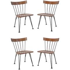 Set of Four Shovel Chairs by Lee Woodard