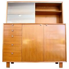 Beautiful Sideboard Credenza with Hutch by George Nelson for Herman Miller