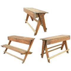 Pedro Ramirez Vazquez Set of Desks and Bench