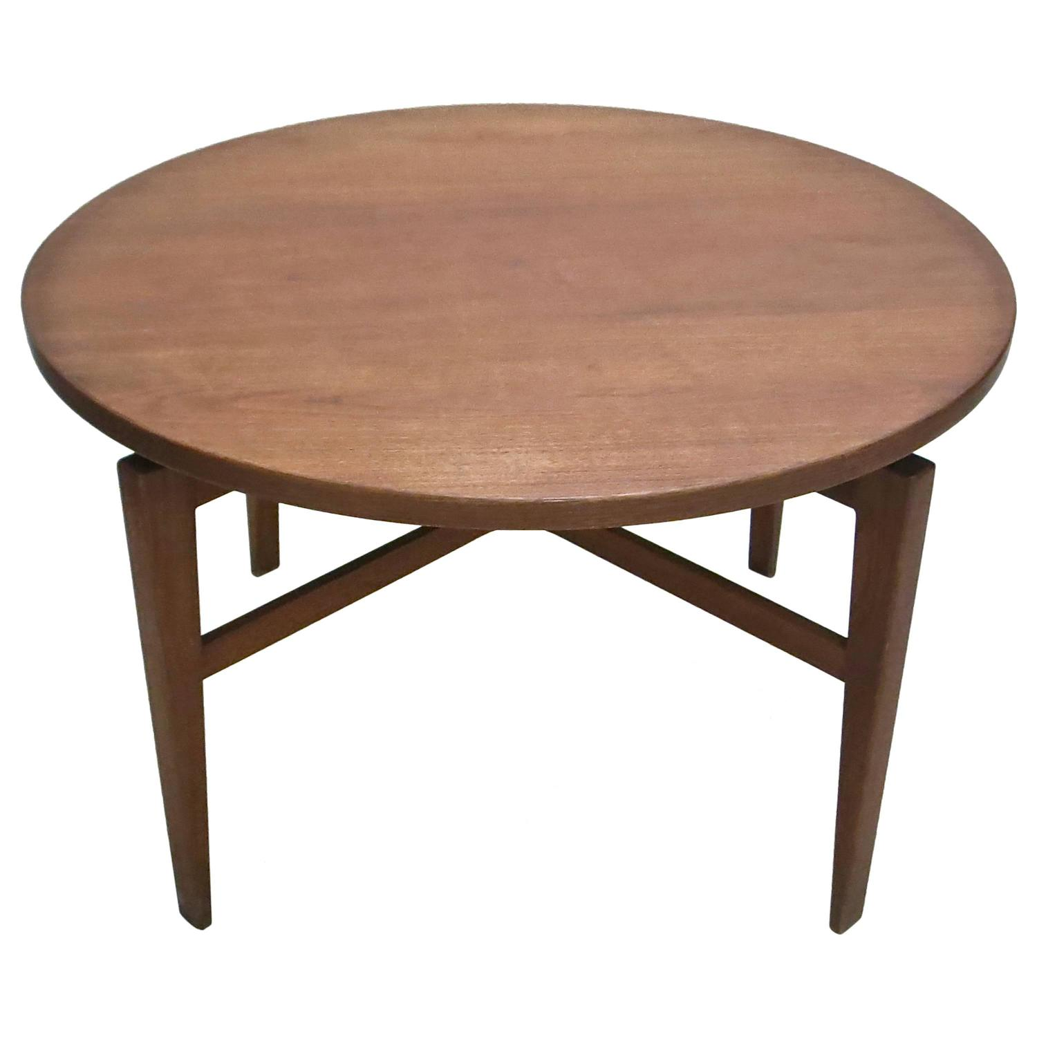 Rotating table by jens risom circa 1950 original for Rotating dining table