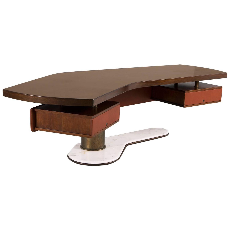 Curved Wood Desk Hostgarcia