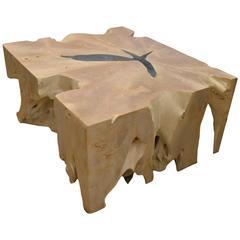 St. Barts Teak Wood Coffee Table