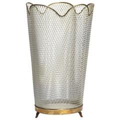 Metal Mesh Waste Basket