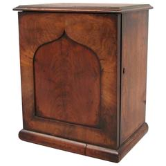 English Mahogany Collector's Cabinet