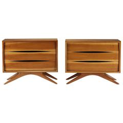 Chests, Pair by Vladimir Kagan for Grosfeld House