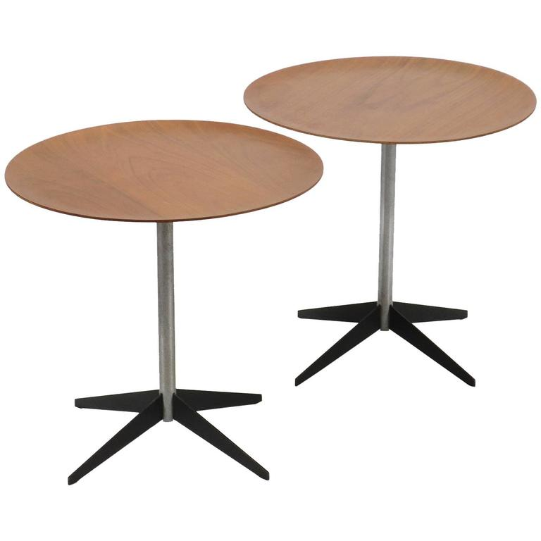 George Nelson Pair of Side Tables by Herman Miller For Sale