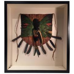 Toucan Bird Head and Feather Breastplate, Jivaroan People, Ecuador S. American
