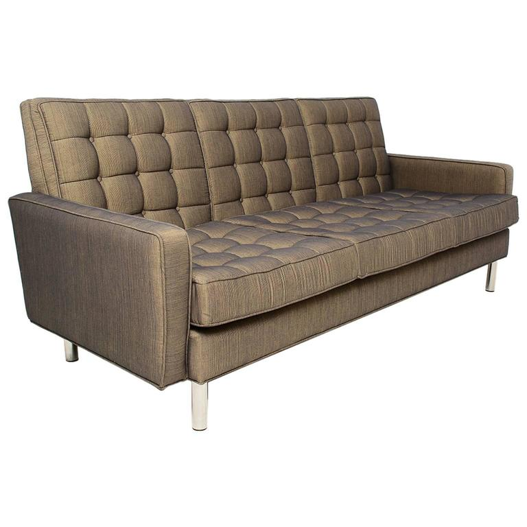 Mid Century Modern Sofas: Mid-Century Modern Sofa After Florence Knoll For Sale At