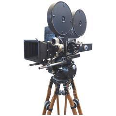 Movie Camera 35mm Film Circa 1940s Rare Mitchell As Sculpture, Original ON SALE