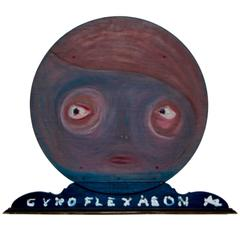 Gyroflexaeon Wall Sculpture by Noted Woodstock Artist