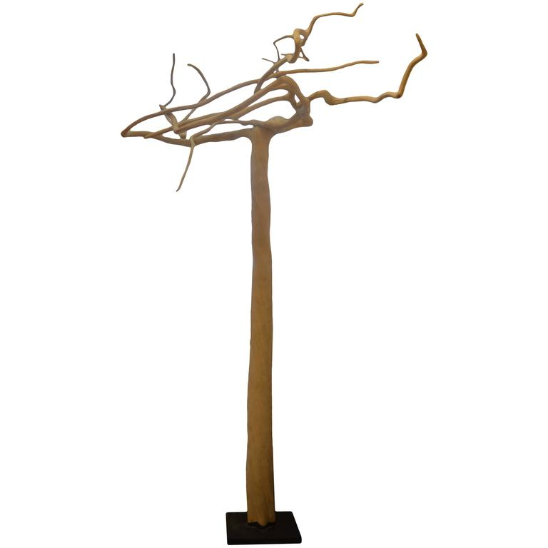 Andrianna Shamaris Coffee Tree Sculpture For Sale