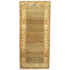 Antique Persian Malayer Carpet, Small Runner