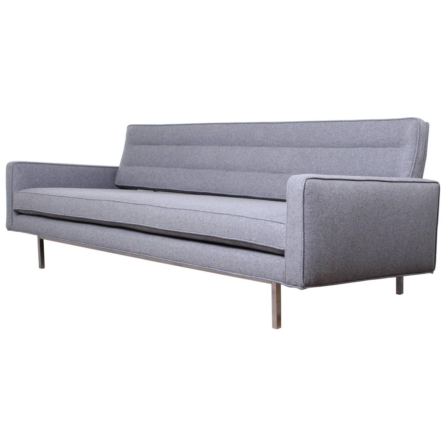 Convertible Sofa or Daybed by Richard Shultz for Knoll For Sale at