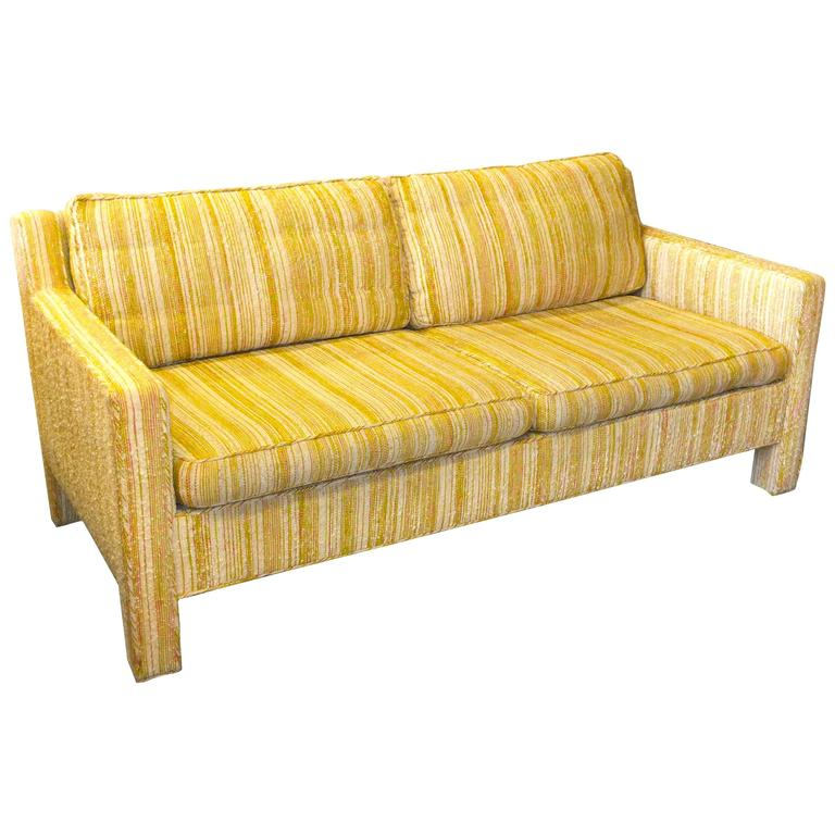 Edward Wormley for Dunbar Love Seat Sofa