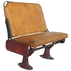 Antique Train Bench by The Hale & Kilburn Company