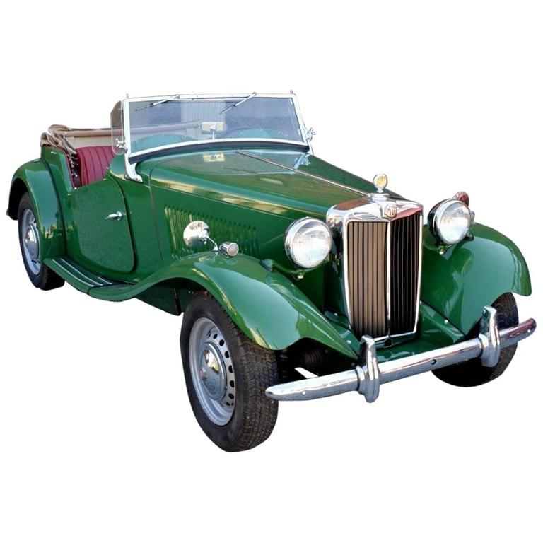1951 MG TD Motor Car