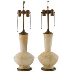 Rare Elsie de Wolfe Original Ceramic Lamps