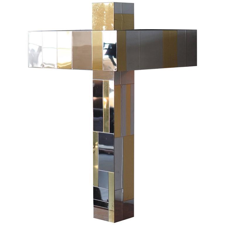 Paul Evans Cityscape Table Lamp