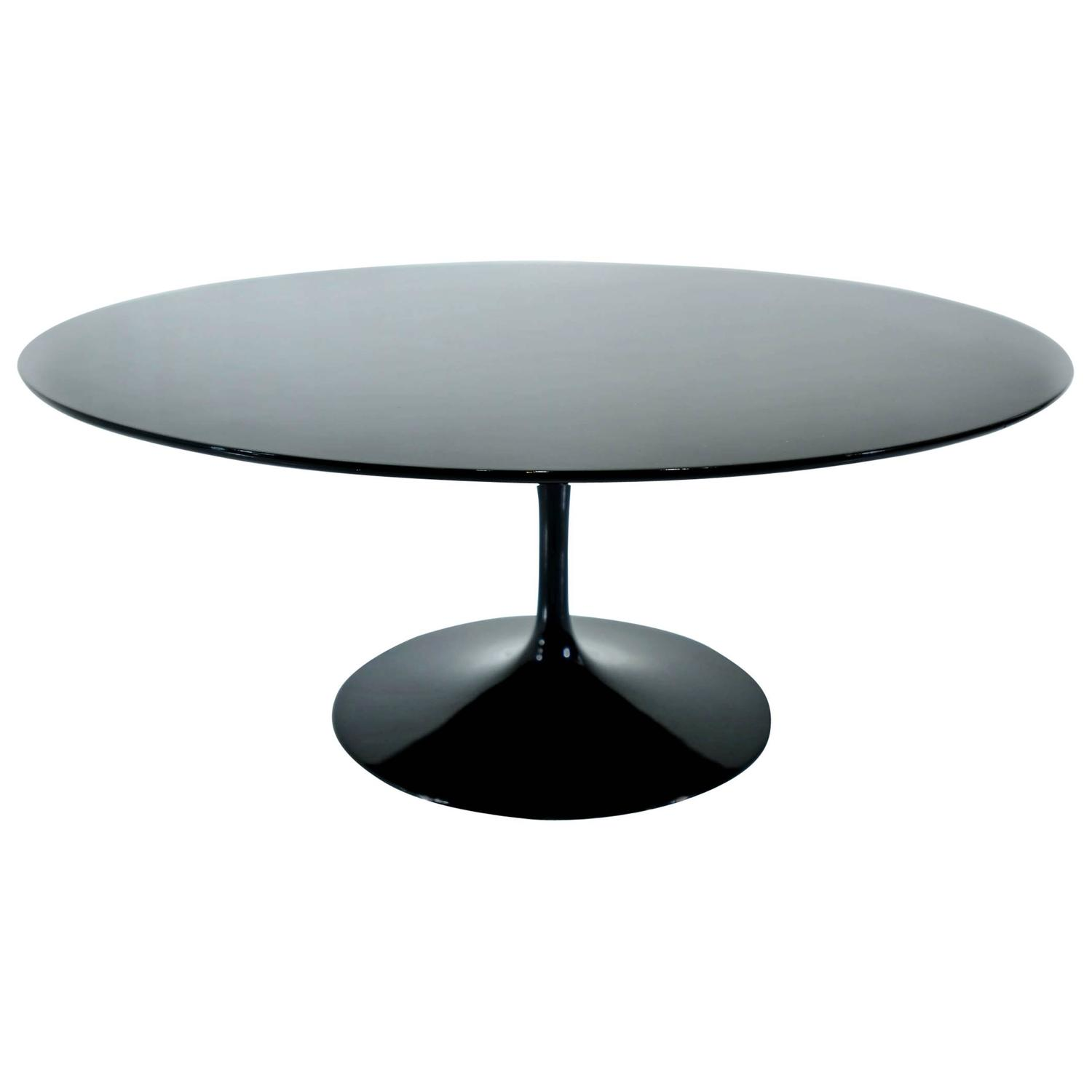 Eero saarinen tulip round coffee table at 1stdibs Round espresso coffee table
