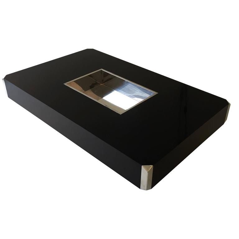 1970 39 s italian design alveo coffee table by willy rizzo - Coffee table italian design ...