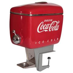 Machine Age Mid Century Pristine Raymond Loewy Dispenser for Coca Cola, 1948