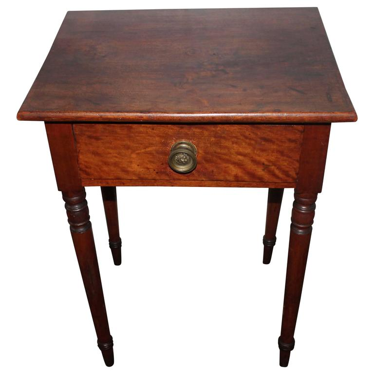 19th Century Rustic Ranch Style Side Table For