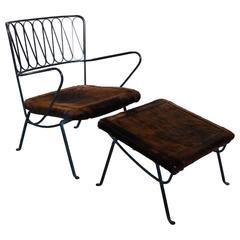 Salterini Ribbon Chair and Ottoman