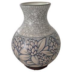 Bing & Grondahl Art Nouveau Vase by Effie Hegermann-Lindencrone