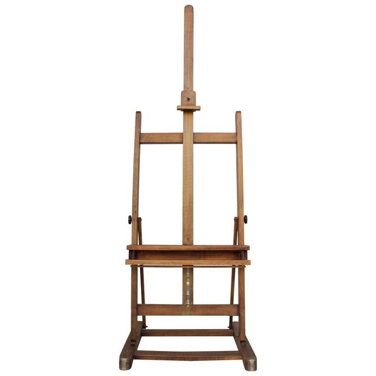 Lefranc Bourgeois Vintage Studio Easel For
