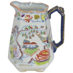 English Mason's Ironstone Small Pitcher