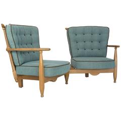 Duo Settee By Guillerme et Chambron