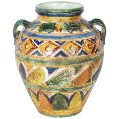 Italian Modernist Vase in the Etruscan Style