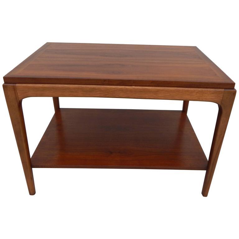 Used Lane Coffee Table: Lane Walnut End Table At 1stdibs