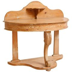 English Washstand in Pine, circa 1880