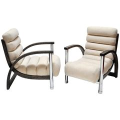 "Jay Spectre, Pair of ""Eclipse"" Chairs"