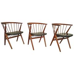 Midcentury Teak Chairs by Sibast Mobler