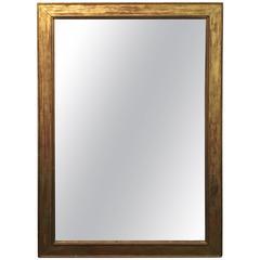 Massive Louis Phillippe Giltwood Mirror